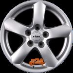Felga aluminiowa Rial OSLO 16 7 5x120