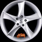 Felga aluminiowa Eta Beta JOFIEL SILVER 18 8 5x114,3