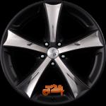 Felga aluminiowa Eta Beta TETTSUT X-BLACK 19 8 5x108