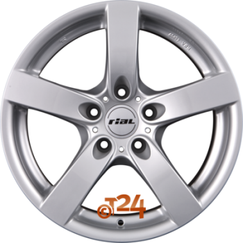 Felga aluminiowa Rial SALERNO 17 7,5 5x120