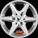 Felga aluminiowa SPORTIVEWHEELS V - SMART 15 6 3x112